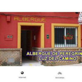 página web albergue de peregrinos Luz del Camino - Dgsys