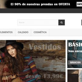 tienda virtual NAGA Outlet - Dgsys