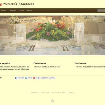 página web para salón de celebraciones - DGsys