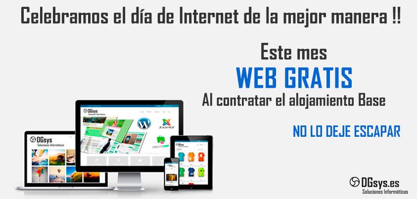 COnsigue el diseño web Gratis