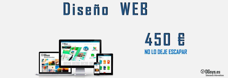 Pagina web 450€